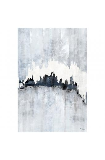 ABSTRACT CITY ΠΙΝΑΚΑΣ 80x3.2x120Ycm OIL PAINTING