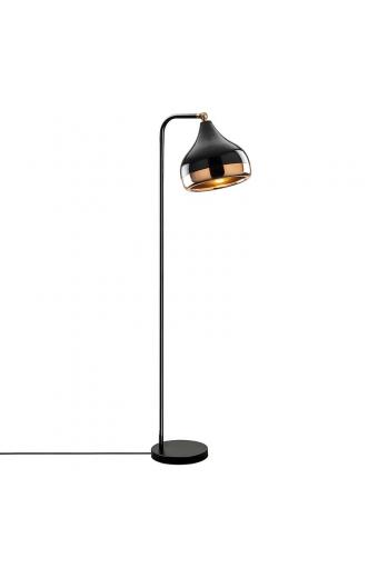 Φωτιστικό δαπέδου PWL-0068 pakoworld χρώμα μαύρο-μπρονζέ 30x17x120εκ