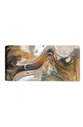 Πίνακας σε καμβά PWF-0408 pakoworld με ψηφιακή εκτύπωση 80x4x30εκ