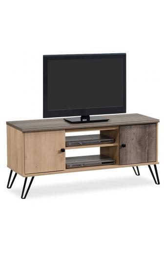Έπιπλο τηλεόρασης Bruno pakoworld χρώμα viscount - toro 121x40x56,5εκ