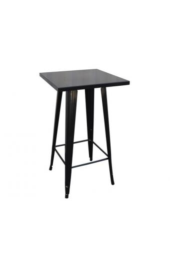 RELIX Τραπέζι BAR Μέταλλο Βαφή Antique Black