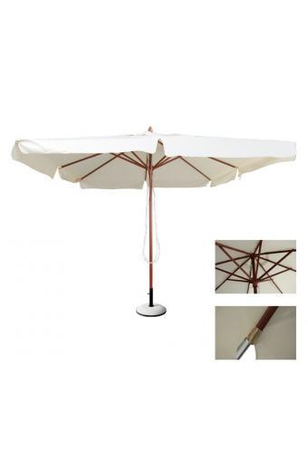SOLEIL ομπρέλα Ξύλο Kempass