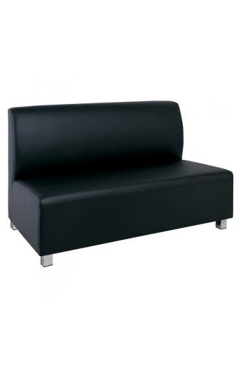 BANDY 2-θέσιος Καναπές Pu Μαύρο