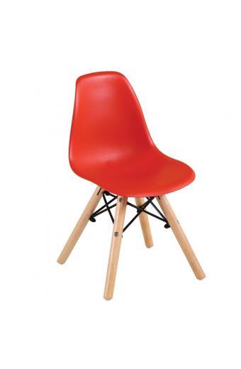 ART Wood Kid καρέκλα Ξύλο/PP Κόκκινο