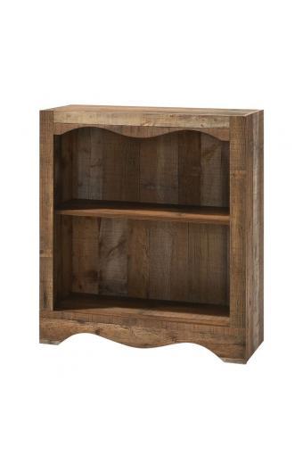 SCARLET Βιβλιοθήκη 1 Ράφι Απόχρωση Antique Oak