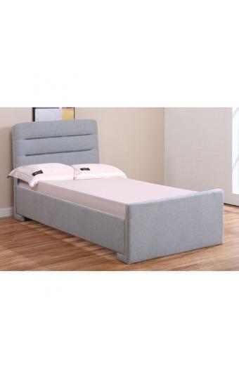 DORAL Κρεβάτι Αποθηκευτικός Χώρος / Ύφασμα Γκρι