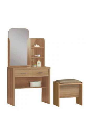 CALIBER Set τουαλέτα με σκαμπώ Sonoma Oak
