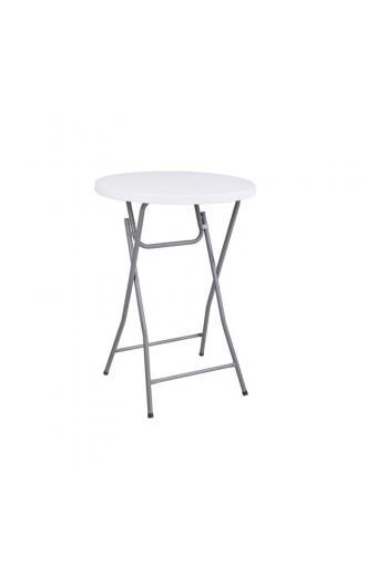 BLOW τραπέζι Bar Πτυσσόμενο Άσπρο
