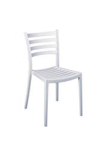 GENOA PP Καρέκλα Πολυπροπυλένιο (PP) Άσπρο