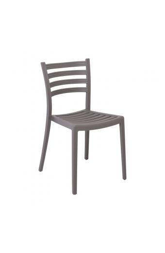 GENOA PP Καρέκλα Πολυπροπυλένιο (PP) Sand Beige