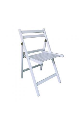 EXTRA Βοηθ. Καρέκλα Πτυσσόμενη Ξύλο Ευκάλυπτος