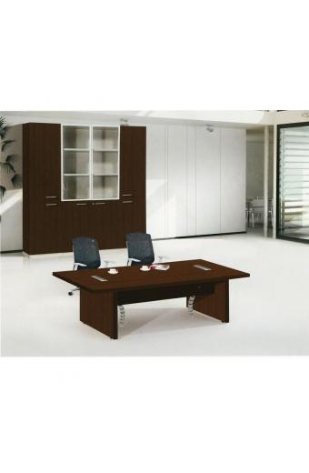 ALPINE Τραπέζι Συνεδρίου Απόχρωση Σκούρο Καρυδί