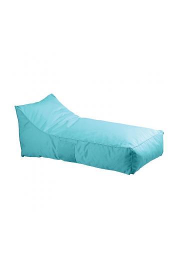 TACO Πουφ Ξαπλώστρα Ανάκλιντρο - 100% Αδιάβροχο Ύφασμα Γαλάζιο