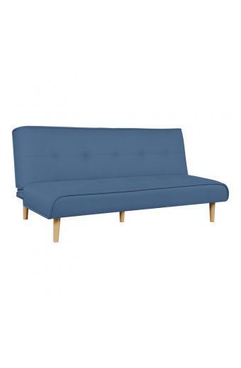 BEAT Καναπές - Κρεβάτι Σαλονιού - Καθιστικού Ύφασμα Μπλε