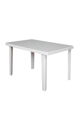 MARTE Τραπέζι Πλαστικό Άσπρο