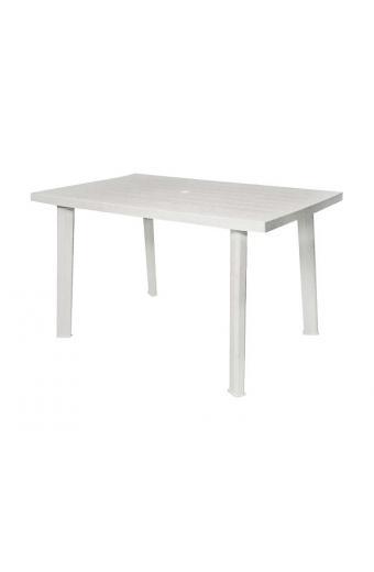 VELO Τραπέζι Πλαστικό Άσπρο