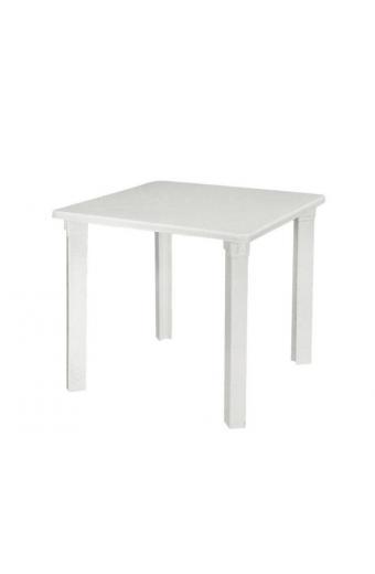 NETTUNO Τραπέζι Πλαστικό Άσπρο