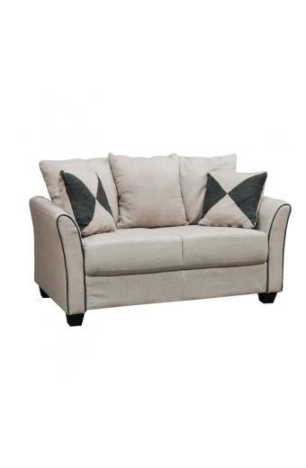 ASHLEY καναπές 2θέσιος Ύφασμα Μπεζ