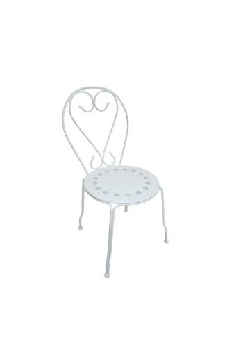 BISTRO Καρέκλα Μέταλλο Βαφή Άσπρο