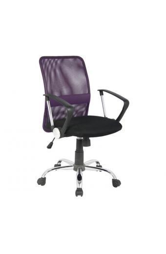 BF2009 πολυθρόνα γραφείου Mesh Μωβ/Μαύρο