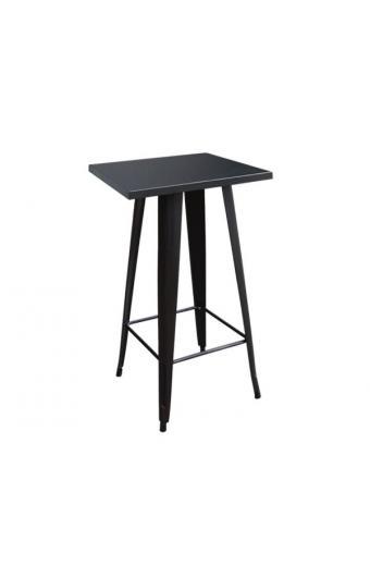 RELIX Τραπέζι BAR Μέταλλο Βαφή Μαύρο