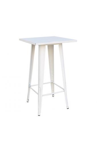 RELIX Τραπέζι BAR Μέταλλο Βαφή Antique White