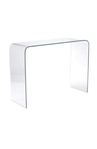 GLASSER κονσόλα Διάφανο Γυαλί 12mm