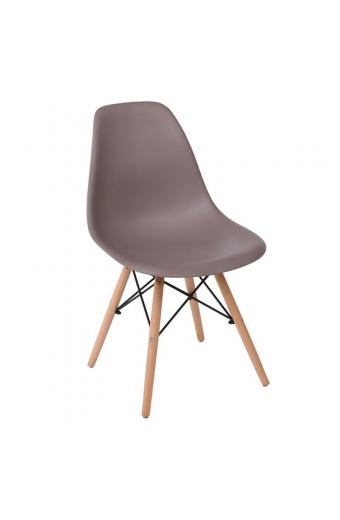ART Wood καρέκλα Ξύλο/PP Sand Beige