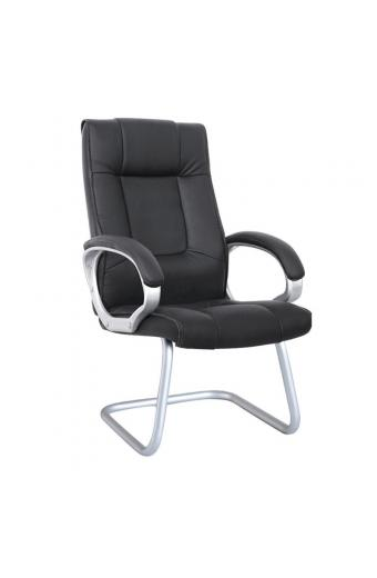 BF6900V Πολυθρόνα Επισκέπτη PU Μαύρο