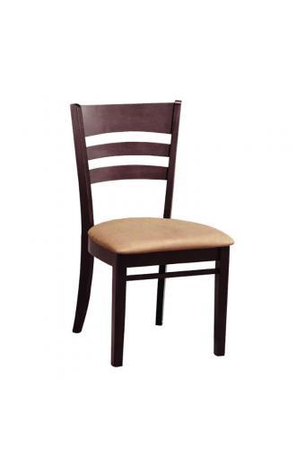 Καρέκλα Τραπεζαρίας Ξύλινη 2τμχ Piona Καρυδί 46X51X91εκ.